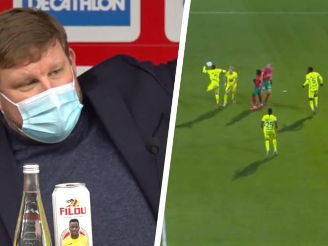 """""""Het toont hoe belachelijk deze regel is"""": AA Gent-coach Vanhaezebrouck zet boom op over biomechanica na nederlaag en penaltygeval"""