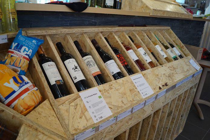 De selectie wijnen is flink uitgebreid.