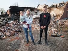 Angela redt zoontje (4) uit brandende boerderij: huis en knuffels gaan in rook op