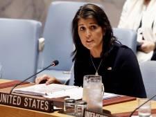 Nikki Haley, ambassadrice américaine à l'ONU, démissionne