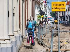 Ook in meest chique winkelstraten van Den Haag winnen 'barrels' terrein