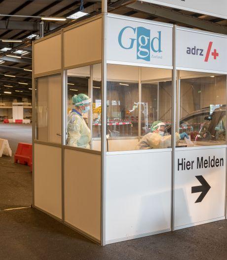 Daling positieve testen in Zeeland zet door