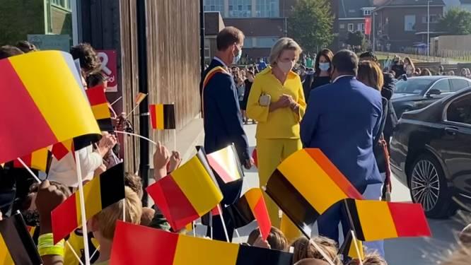 Koningin Mathilde weer aan de slag na quarantaine