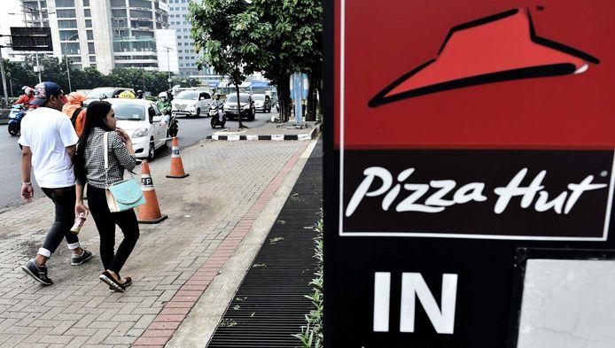Un restaurant Pizza Hut à Jakarta, en Indonésie.