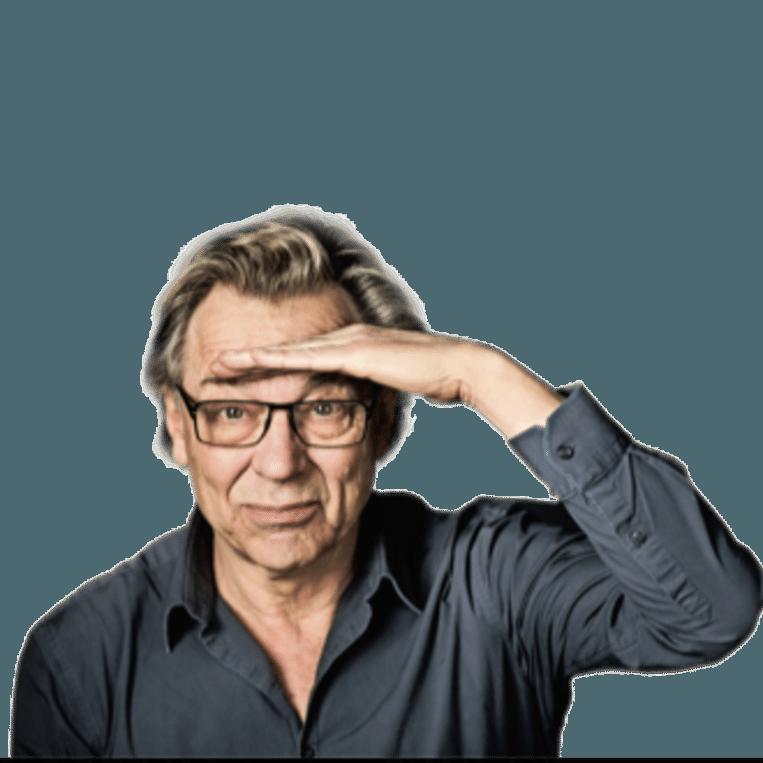 Jan Mulder column editie Beeld Humo