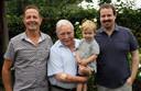 Francois, Carolus, Oscar en Stijn Pauwels.