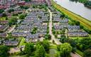 De wijk in Oud-Beijerland, die gesloopt gaat worden.