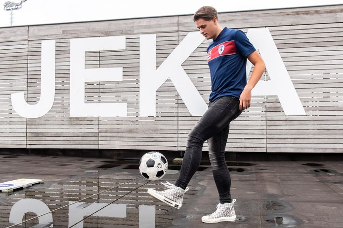 Roman Talboom, hier nog als speler van JEKA, komt volgend seizoen uit voor VV Dongen.