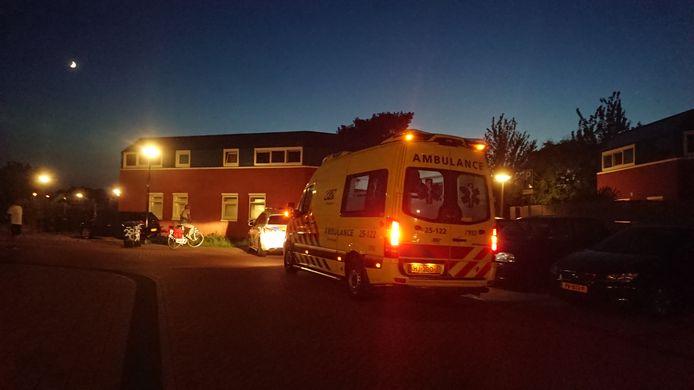 Wat er precies gebeurd is bij het Leger des Heils is nog onbekend, maar er werd wel een ambulance opgeroepen voor een steekincident.
