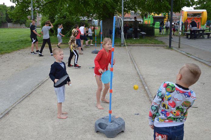 Er waren verschillende activiteiten voor de kinderen een Centrum De Kouter.