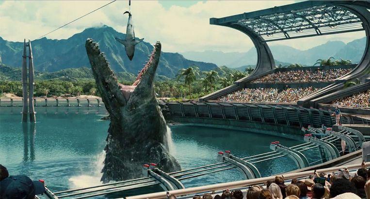 Jurassic World (2015) 36.881.763 keer gedownload in 2015 Beeld