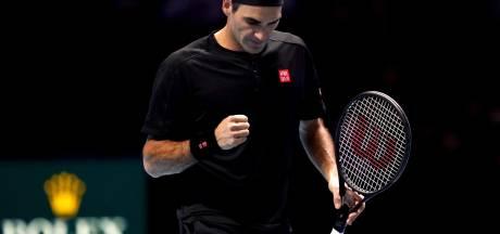 Roger Federer engrange sa première victoire à Londres