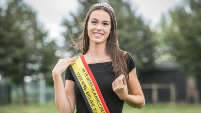 Voordracht levert Emily (19) kroontje Miss West-Vlaanderen op