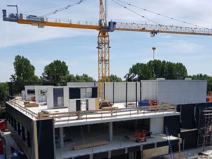 Nieuwbouw van het orthopedisch centrum naast het LangeLand Ziekenhuis in Zoetermeer