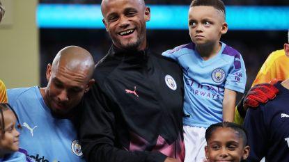 """Onze man in Manchester over hommage voor Kompany: """"Soms schieten superlatieven tekort"""""""