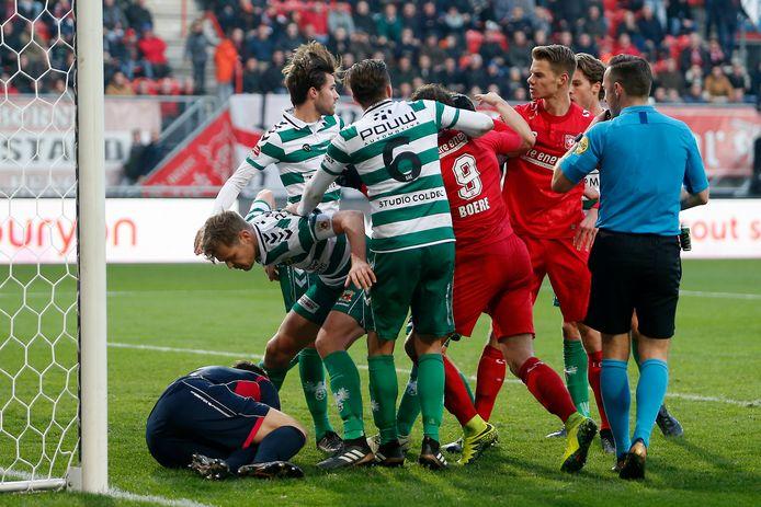Go Ahead Eagles - FC Twente.