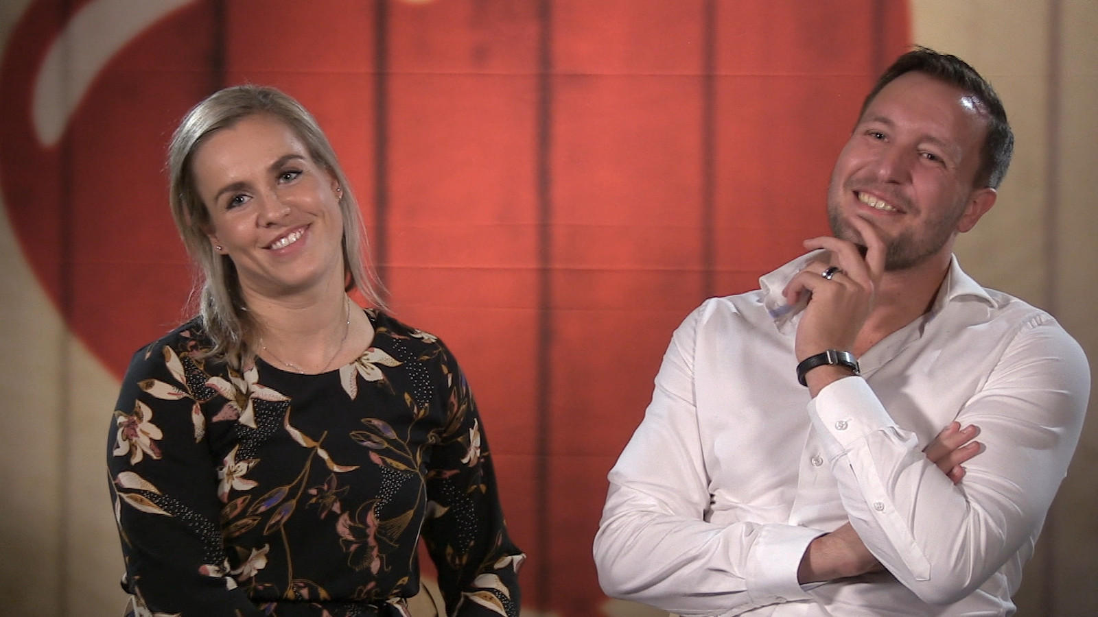 Videostills First dates Carin en Gerard