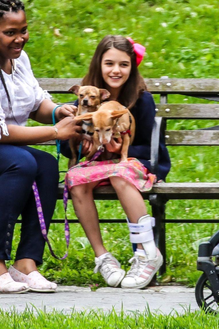 Juni 2018 - Suri had een aangename zomer in New York.