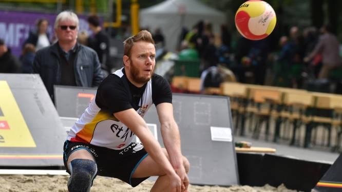 """Wim Degrève opent BK beachvolleybal in Ieper met nieuwe partner: """"Het zal aanpassen worden"""""""