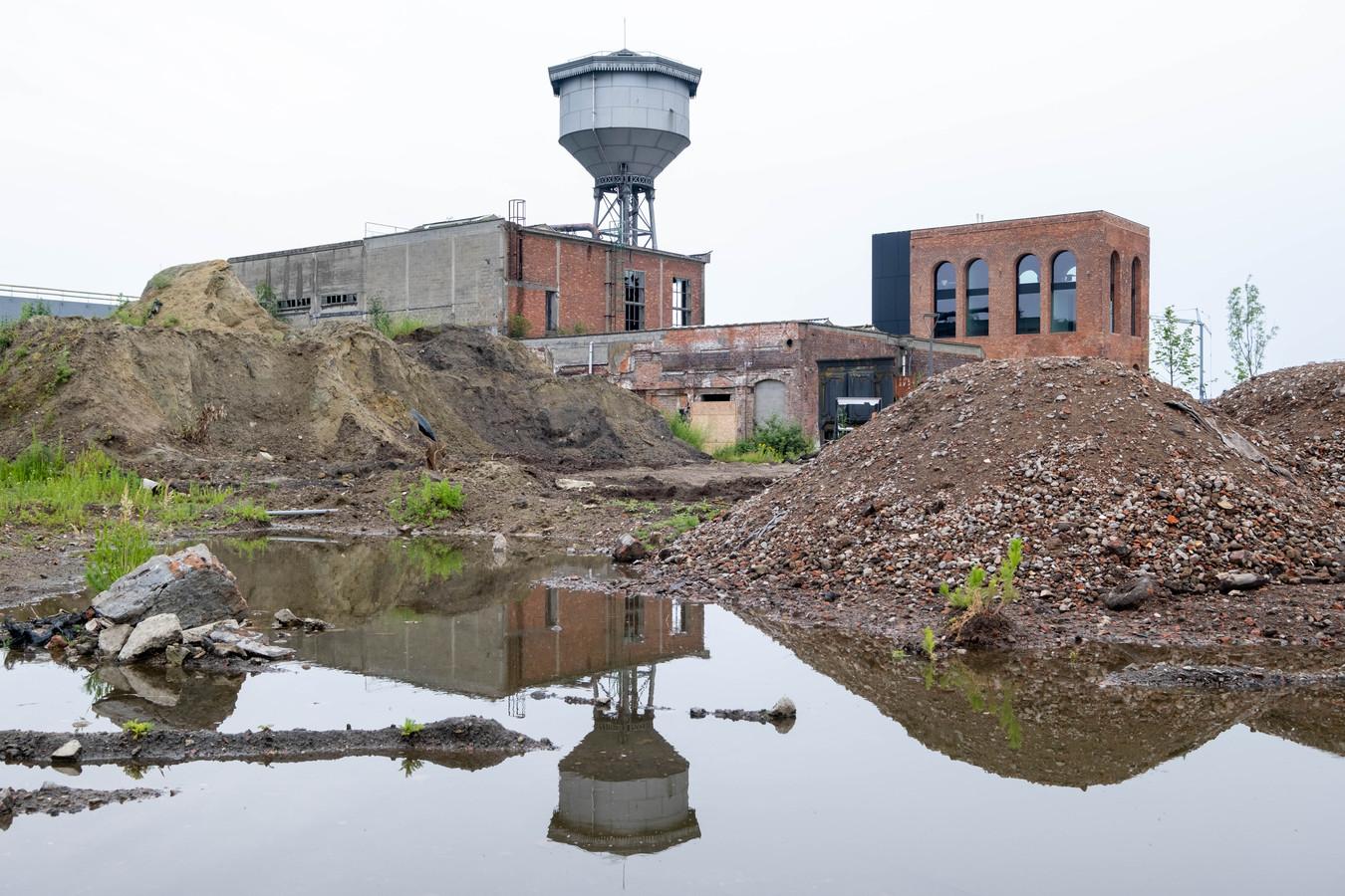 De site van de voormalige papierfabriek De Naeyer in Willebroek.