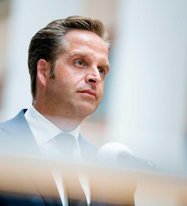 Demissionair minister Hugo de Jonge (Volksgezondheid, Welzijn en Sport).  Beeld ANP