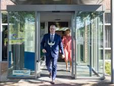 Warm welkom voor nieuwe burgemeester Staphorst: wel coronaproof