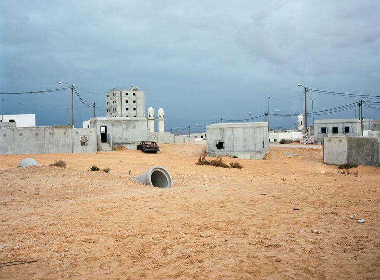 Rawabi is een nieuwe, moderne stad op de Westelijke Jordaanoever. Beeld Ad van Denderen