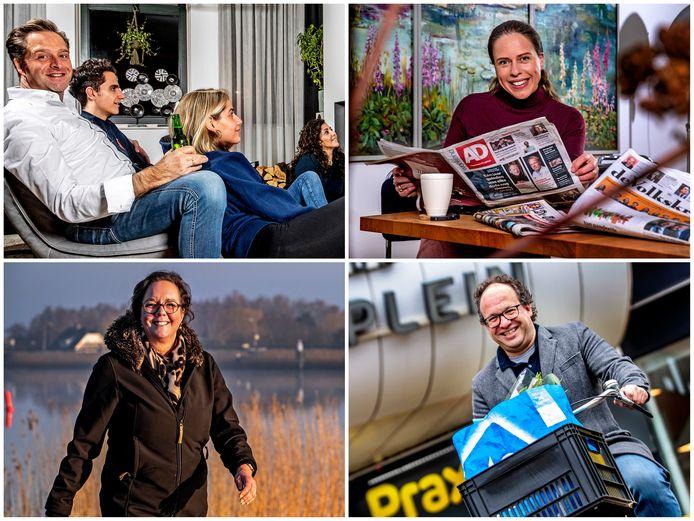 Hugo de Jonge, Carola Schouten, Tamara van Ark en Wouter Koolmees.