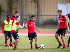 Basisdebuut voor Mauro bij PSV, Van Ginkel afwezig, De Jong weer captain