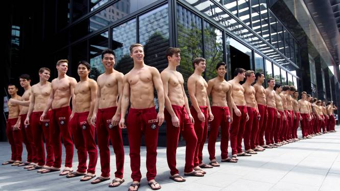 Abercrombie & Fitch straft personeel met push-ups