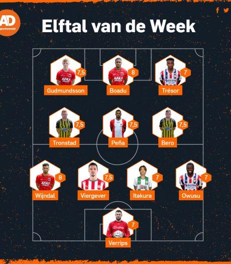 AZ na zege op Feyenoord hofleverancier in Elftal van de Week