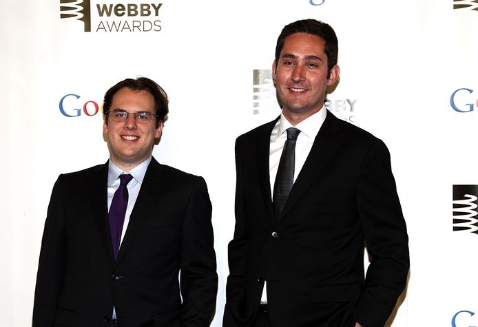Kevin Systrom et Mike Krieger.