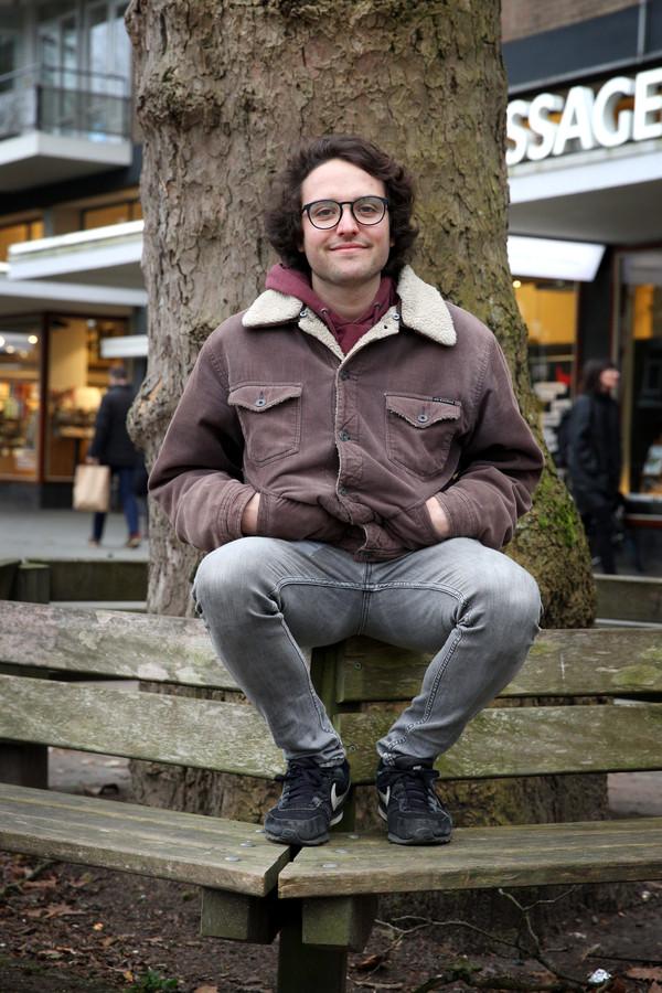 Max Dörr eerder op de foto gezet in Rotterdam, waar hij de afgelopen jaren woonde.