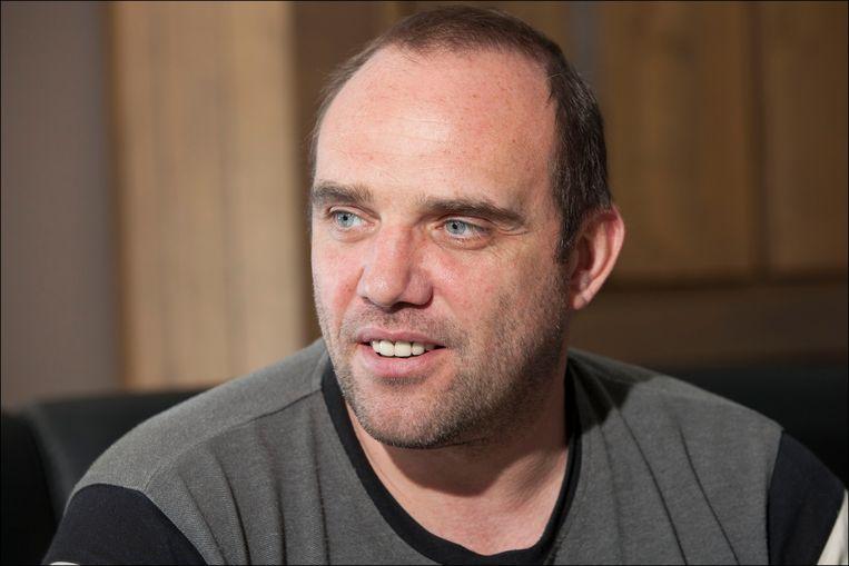 Wilfried Nelissen raakte in 1994 verwikkeld in een van de zwaarste valpartijen in de geschiedenis van de Tour. Beeld Photo News