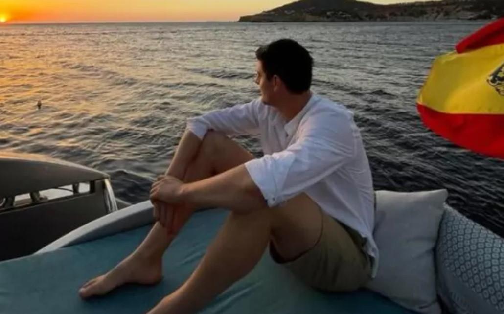 Courtois à Ibiza