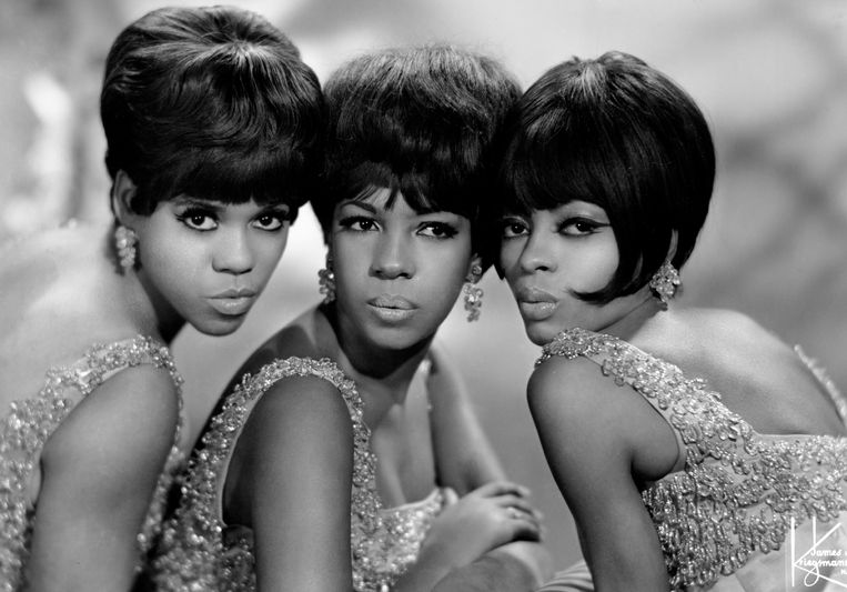 Foto van de Supremes, 1960 Beeld Getty Images