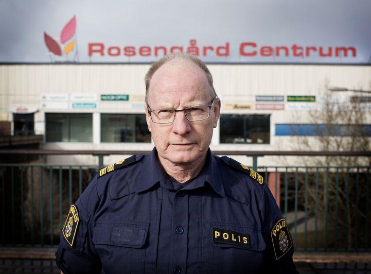 Glen Sjögren, politiechef in Malmö en een coördinator van de GVI-methode. Beeld