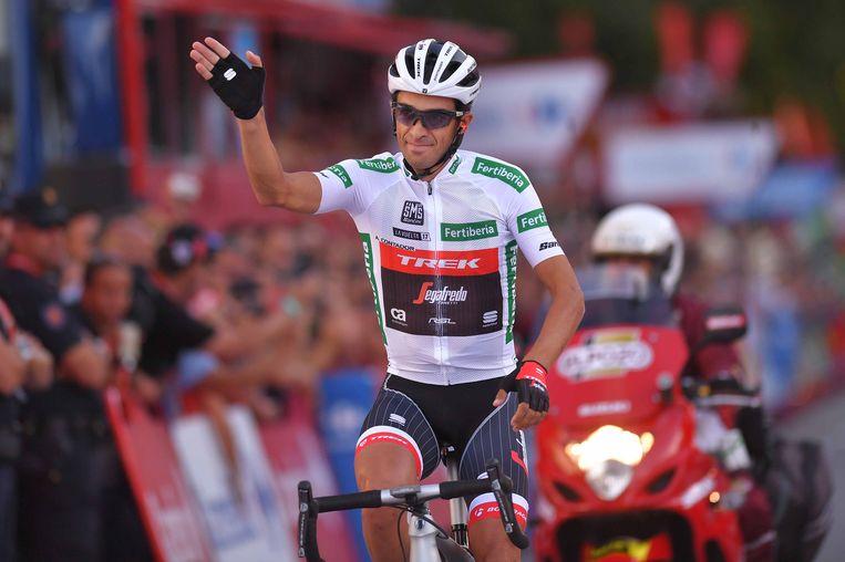 Cycling: 72nd Tour of Spain 2017 / Stage 21 Alberto CONTADOR (ESP) White Combined Jersey /  Arroyomolinos - Madrid (117,6km) / La Vuelta / © Tim De Waele Beeld TDW