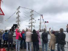 Live: Aankomst van tallships tijdens Sail op Scheveningen