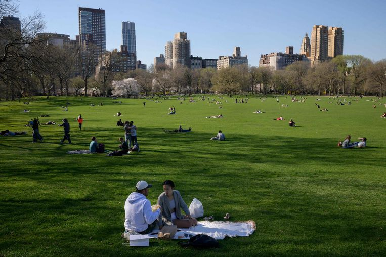 Central Park in New York.  Beeld AFP