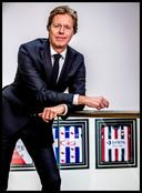 Portret van Jan de Jong, voorzitter Eredivisie CV Foto ; Pim Ras