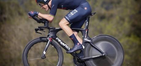 Rohan Dennis remporte le chrono de la 2e étape, Joao Almeida nouveau leader