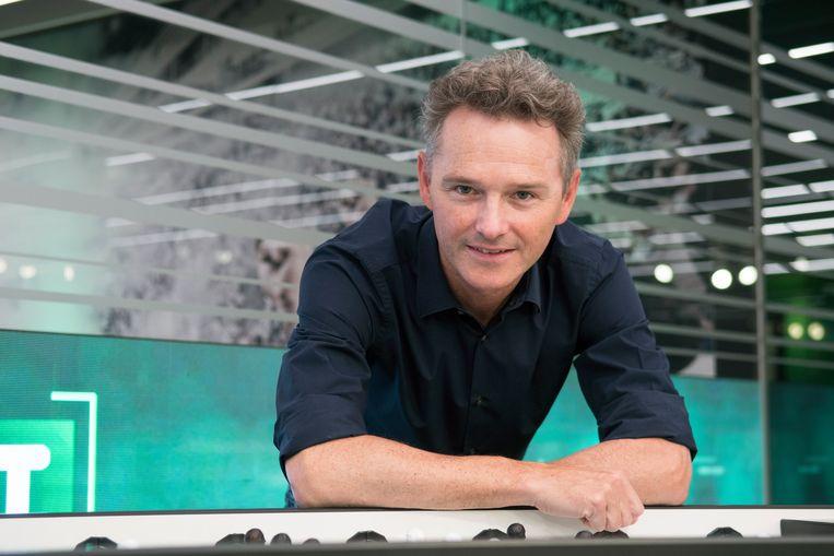 Bart Raes zal de gastheer zijn tijdens de openingstalkshow van Play Sports Open.  Beeld Johan Martens