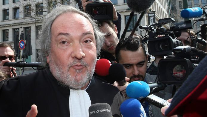 Me Vincent Lurquin, avocat d'Osama Krayem.