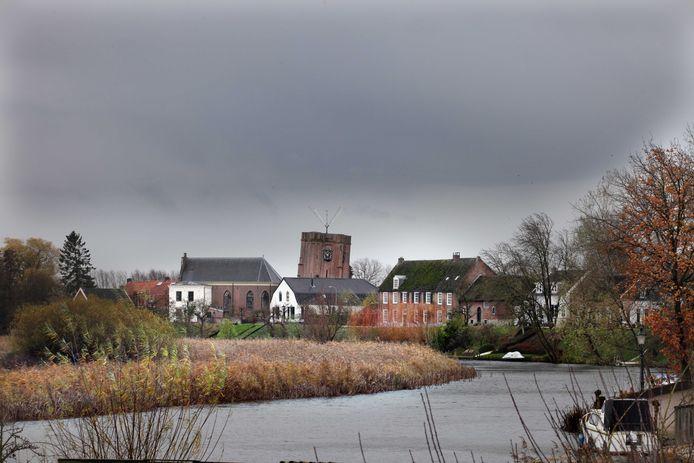 Het dorp Acquoy.