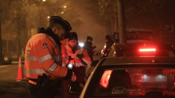 Zeventien rijbewijzen ingetrokken bij nachtelijke controles door politie Regio Turnhout