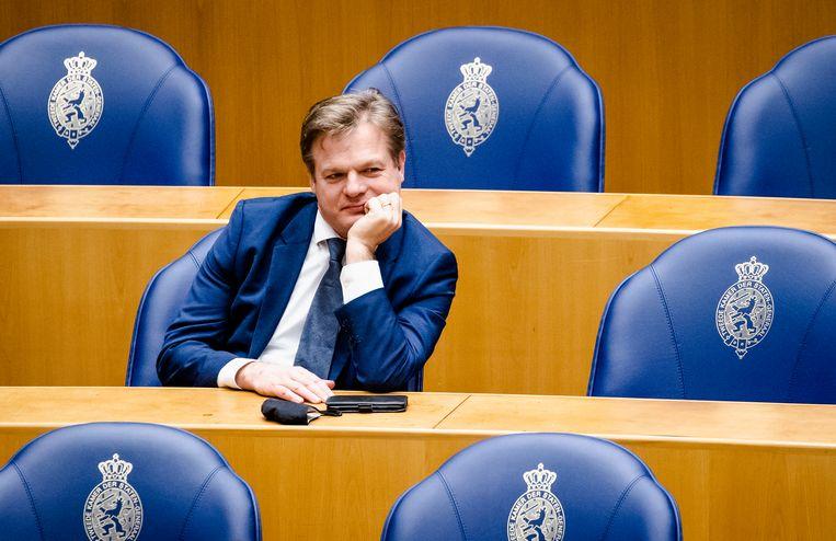 Pieter Omtzigt, Kamerlid voor het CDA, pleit voor nieuwe mores in Den Haag. Beeld Hollandse Hoogte /  ANP