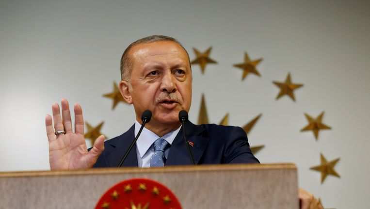 Tayyip Erdogan Beeld ap