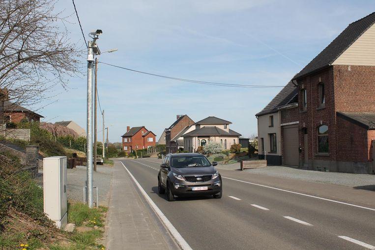 ANPR-camera's aan de Van den Bosschestraat. Deze slimme toestellen hebben al 27 criminele feiten opgehelderd.