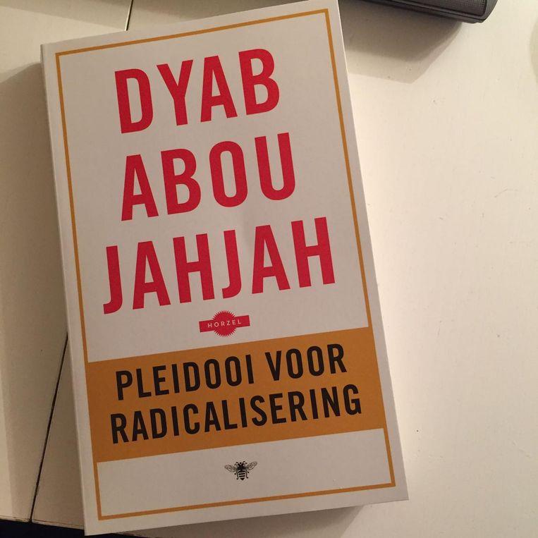 Het pamflet 'Pleidooi voor radicalisering' van Abou Jahjah. Beeld null